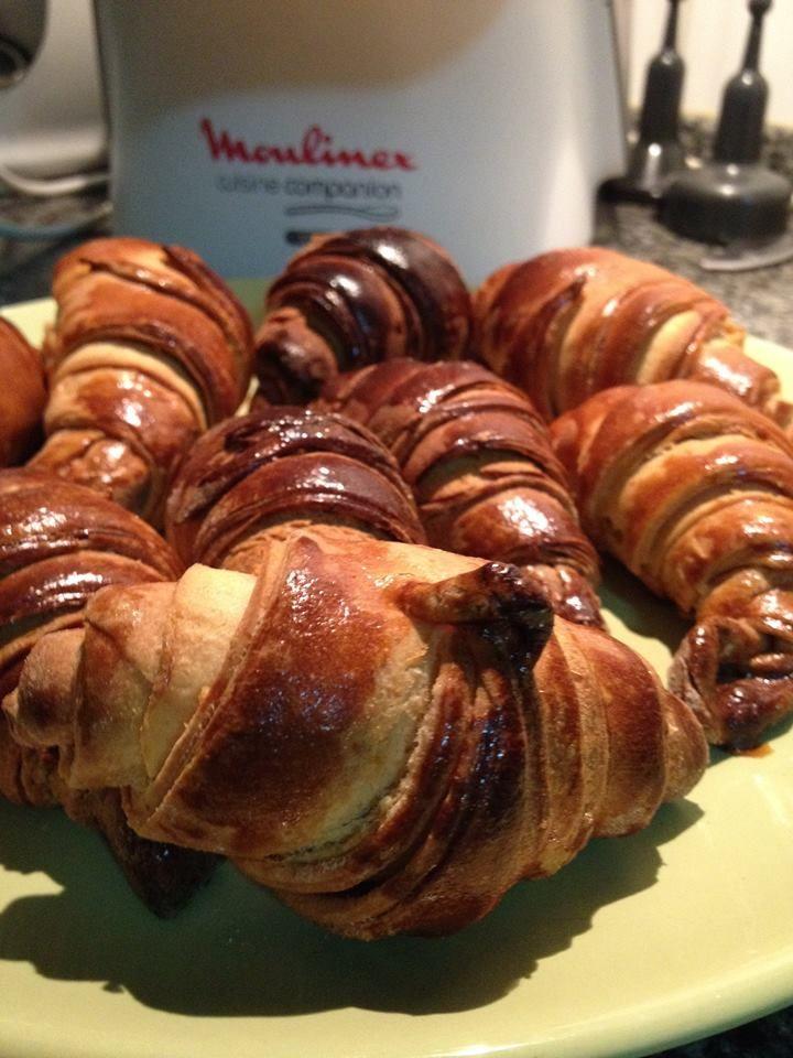 Ligada à ficha : Croissants sem massa folhada na Cuisine Companion