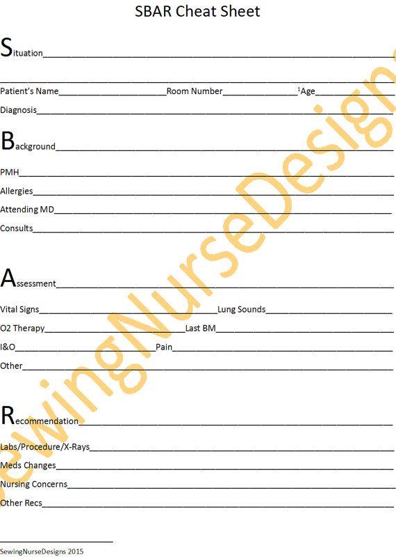 Best 25+ Sbar ideas on Pinterest Sbar nursing, Nurse report - shift report template