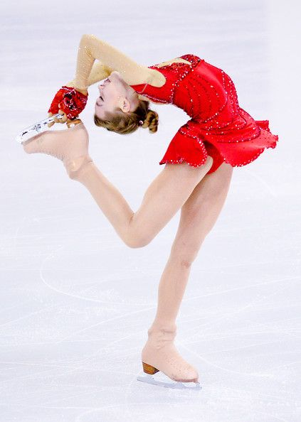 Elena Radionova of Russia during the Short Program Final during day one of the ISU Grand Prix of Figure Skating Final 2014/2015 at Barcelona International Convention Centre on December 11, 2014 in Barcelona, Spain.