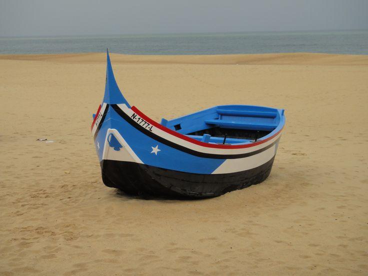 Nazare fishing boat