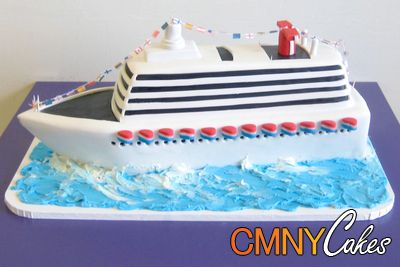 Luxury Cruise Ship Cake - wish I had time to make this one!