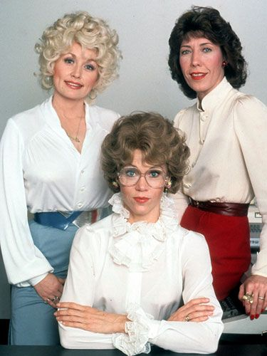 """Workwear: Dolly Parton, Jane Fonda and Lily Tomlin in """"Nine to Five,"""" 1980. I loved this movie as a little kid even though 75% of the jokes were lost on me!"""