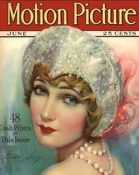 Gilda Gray on the cover of Motion Picture magazine, June 1927