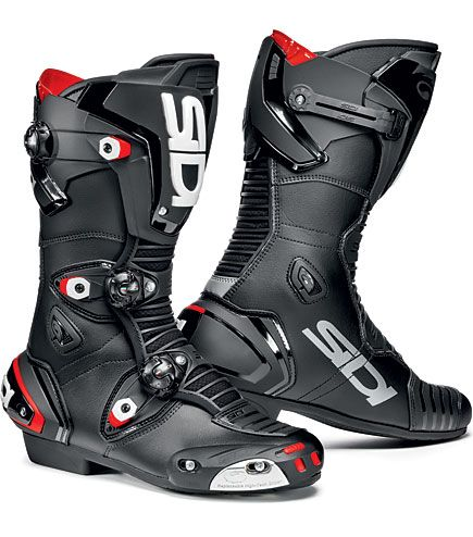 The new Sidi Mag 1 Motorcycle Boots in black