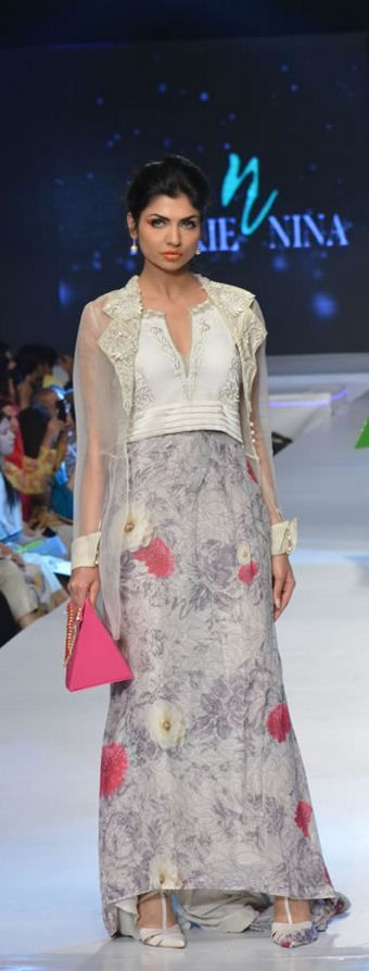#MishaLakhani Collection at #PFDC Sunsilk Fashion Week 2015