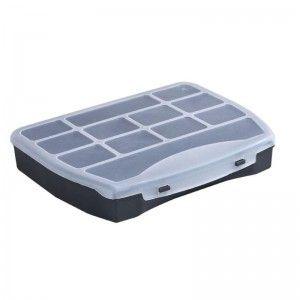 pudełko na półprodukty do wyrobu biżuterii, pojemnik na akcesoria wędkarskie, 19x16 cm http://upominki.biz.pl/pl/p/Pudelko%2C-pojemnik-na-polprodukty%2C-akcesoria-jubilerskie-wedkarskie/241