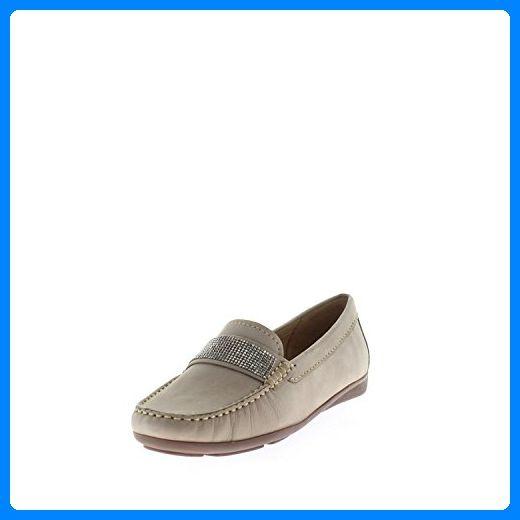 Wirth SP Schuh 35380 vison Größe 38.5 Beige (beige camel) - Slipper und mokassins für frauen (*Partner-Link)
