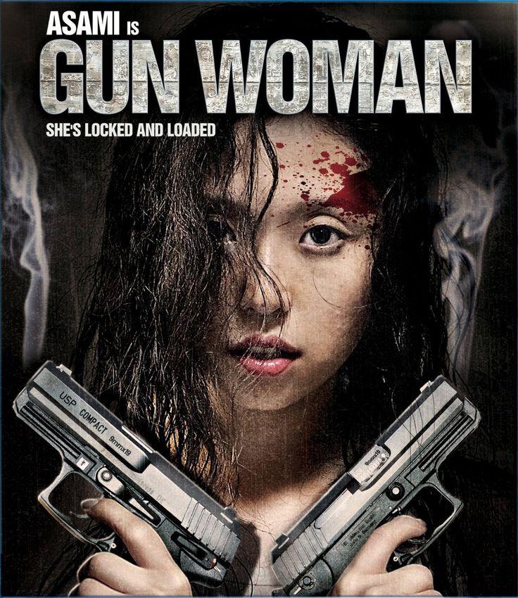 """Gun Woman"" movie - http://johnrieber.com/2016/03/18/japans-busiest-j-sploitation-star-meet-asami-from-gravure-idol-to-j-sploitation-star/"