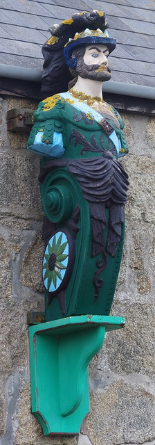 Figurehead (St. Mary's, Isles of Scilly, UK)One of the many from the shipwrecks around the islands........