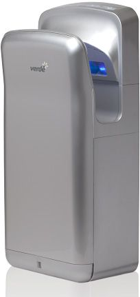 Verde Maxi Silver Hand Dryer by Verde Solutions.