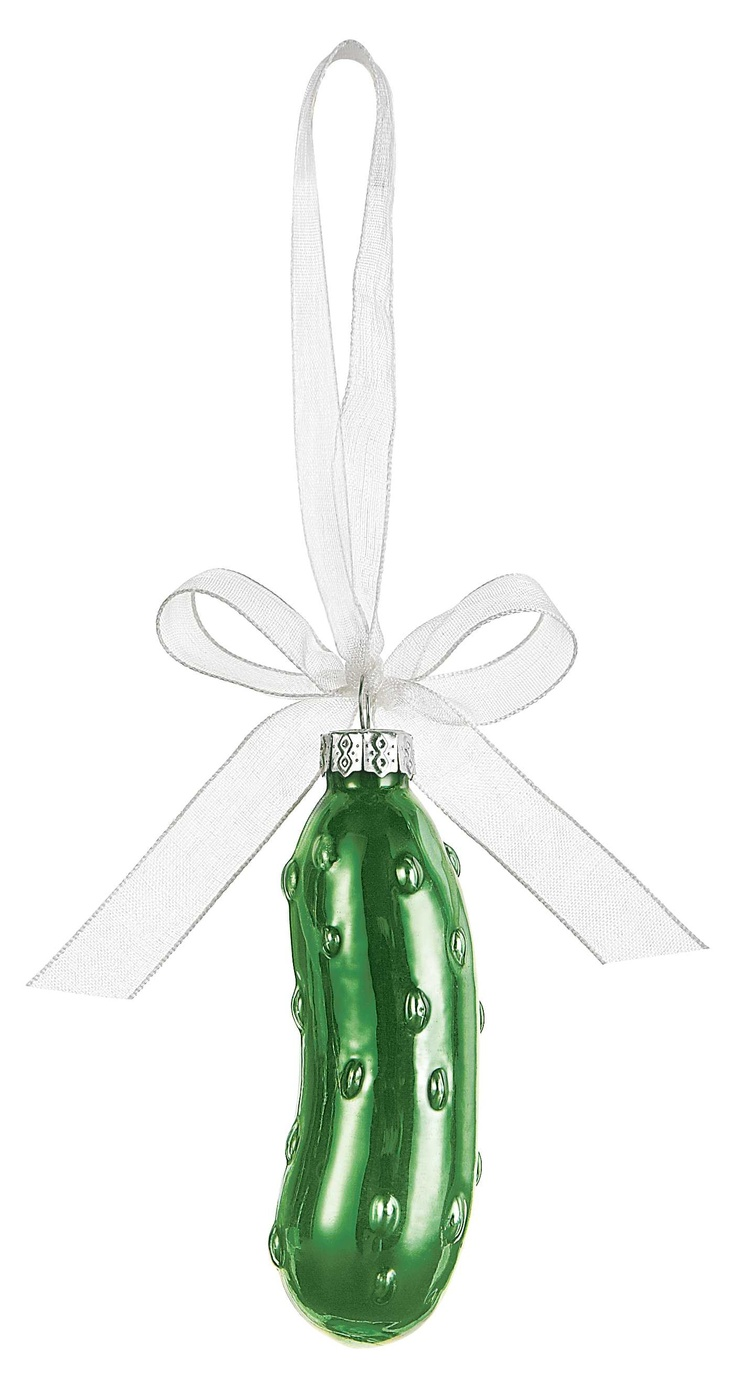 The Christmas Pickle!