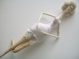 These rag dolls are around 60 cm high and are £30 each.