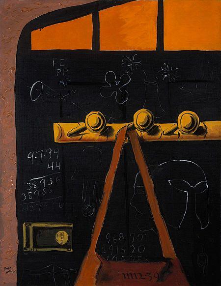 Man Ray, Studio Door, 1939.