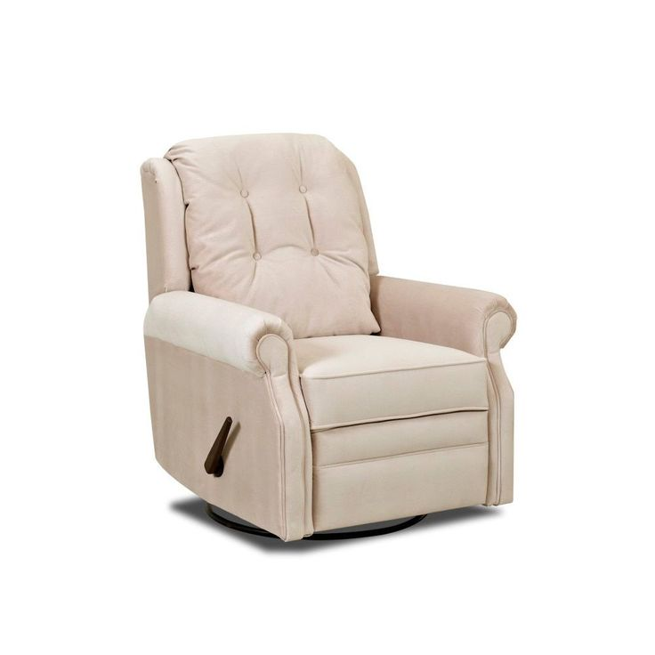Klaussner Furniture Made to Order Sand Key Reclining Rocking Chair (Sand Key Reclining Rocking Chair - Buck), Beige (Polyester)