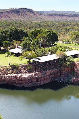 El Questro homestead, The Kimberly's. Would love to stay here and also catch a barramundi from the helicopter!