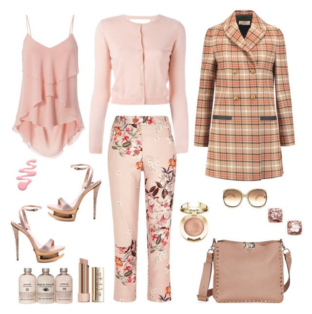 """""""Sans titre #399"""" by carolinesaracosa77 on Polyvore featuring mode, Gianmarco Lorenzi, RED Valentino, River Island, Exclusive for Intermix, Kate Spade, Tory Burch et Tom Ford"""