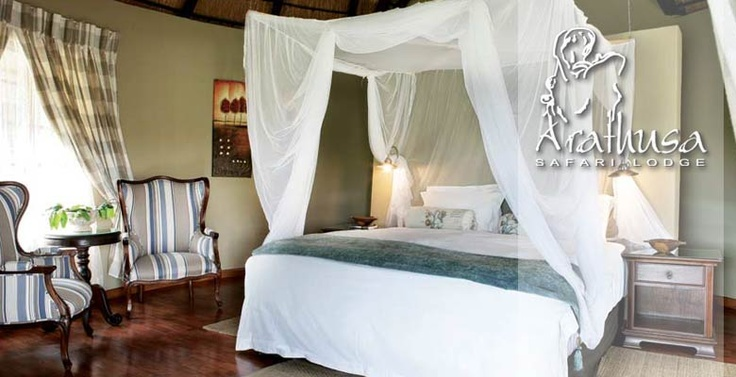 Arathusa Safari Lodge Accommodation Gallery banner | luxury room