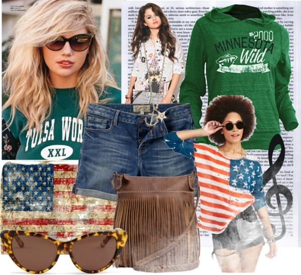 """""""USA STYLE"""" by mulik ❤ liked on Polyvore"""