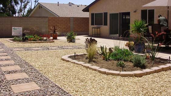 rock mulch landscaping