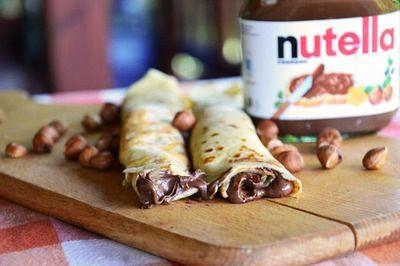 Nutella pancakes <3