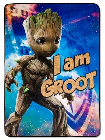 Marvel Guardians of the Galaxy® Groot Bed Blanket (Twin)