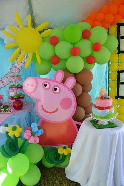 Fiesta: Cupcakes, Cakes y decoración Peppa Pig