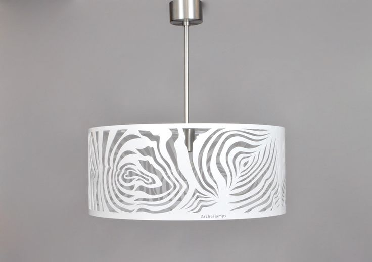 Pendant Lighting – Modern Lamp, ceiling light WHITE MALACHITE – a unique product by Archerlamps on DaWanda