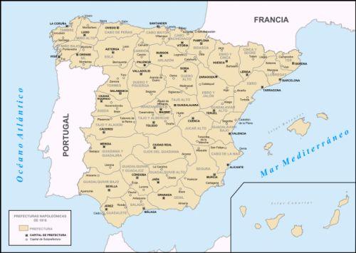 Si bien no llegó a ponerse en marcha, por su carácter pionero, el sistema francés fue un revulsivo para la anticuada estructura provincial