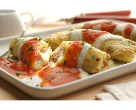 Canelones con panceta y queso Receta | Recetas de comidas - Yahoo! Mujer Argentina