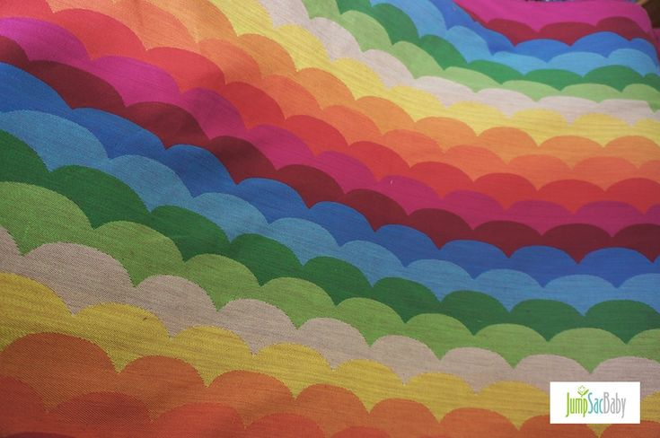 JumpSac Baby Rainbow Waves Wrap