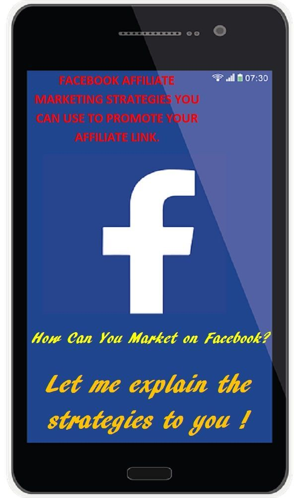 Facebook has become one of the major platform for advertising, you have to use every tools possible to get your affiliate link seen by people