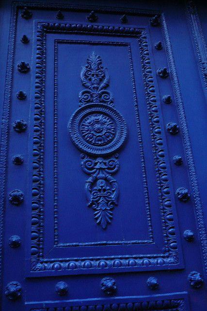 Beautiful Blue Door - Paris