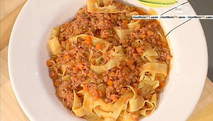 La ricetta delle pappardelle al ragù di cinghiale di Alessandra Spisni del 2 febbraio 2015 – La prova del cuoco