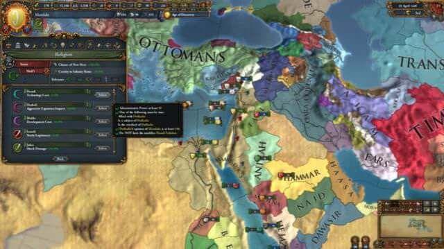 EUROPA UNIVERSALIS IV CRADLE OF CIVILIZATION PC es un juego de estrategia y deberás elegir una de las naciones de enfoque, o solo te encontrarás...