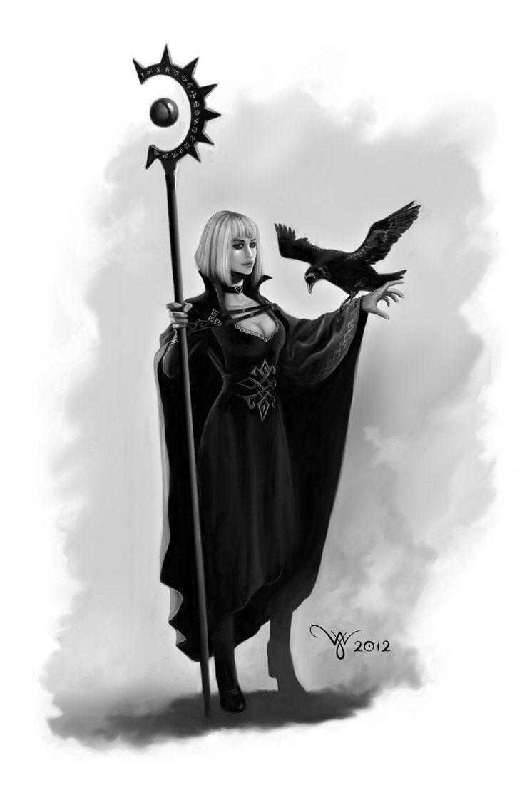 Dark Mage by ~Werlioka on deviantART #wizard #sorcerer