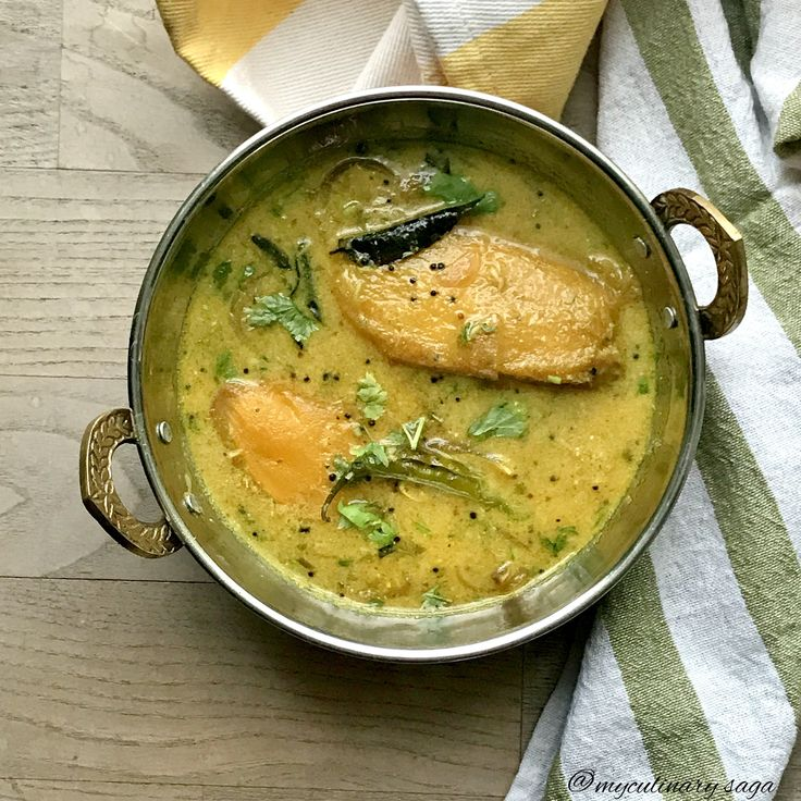 Kaad mange curry from coorg coorg cuisine my culinary saga in 2019 mango curry food - Cuisine saga but ...