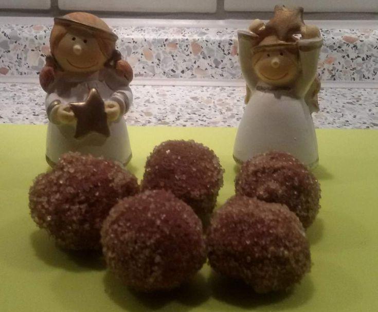 Rezept Schoko-Likör-Weihnachtspralinen von Uta B. - Rezept der Kategorie Desserts