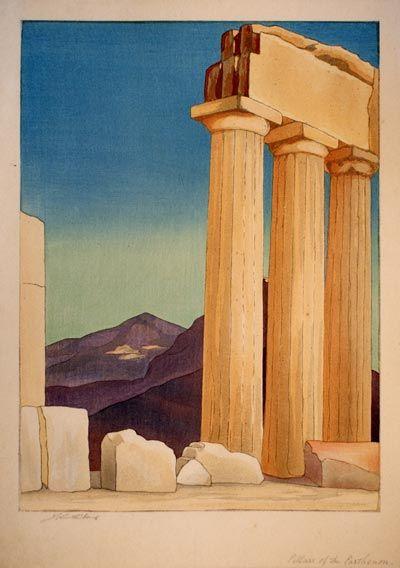 Bo Yin Ra (Joseph Anton Schneiderfranken) - Pillars of the Parthenon