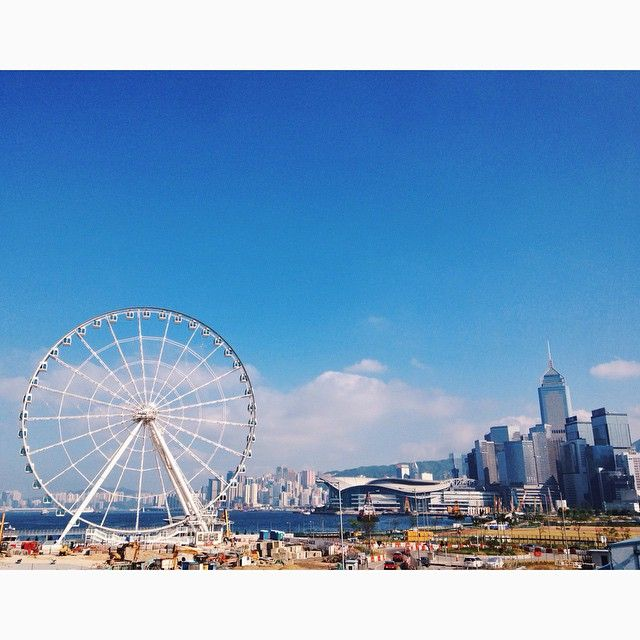 hong kong observation wheel.