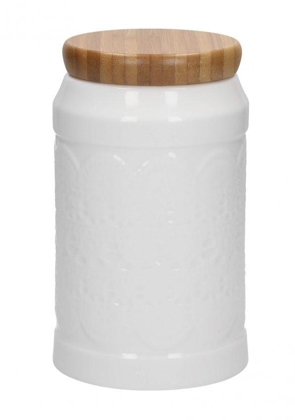 Pojemnik ceramiczny na kawę AFFEK DESIGN KORONKA 1,2 l