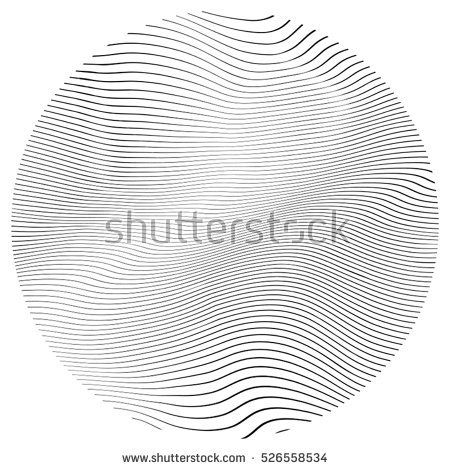 Wave Stripe Background - simple stamp texture for your design. EPS10 vector.