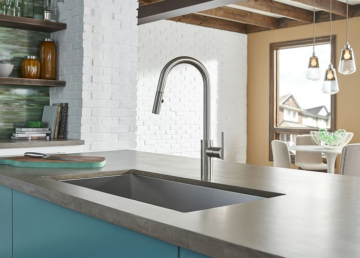 The Danze Parma Cafe™ Kitchen Faucet Is A Must Have For Any Contemporary  Space.