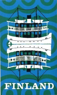 Finland Poster by Onni Vuori  | http://stickersandstuff.blogspot.fi/2009/07/finland-poster-onni-vuori.html