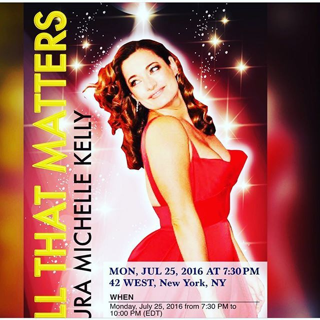 Thankyou to @kiyoko_smiley  who made this poster for me ! So on my official Twitter account @lauramkelly you will find a new video my friend edited for me from my amazing time @54below and we are bringing it to 42west . A new venue so if you wanna see it for the last and final performance of this solo concert you can get your tickets at allthatmatters.eventbrite.com ! Grab a view of the video I just posted and share it with your single friends ..! Lol .