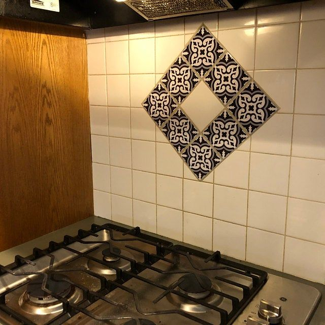 Best Tile Stickers Vinyl Decal Waterproof Removable For Kitchen 640 x 480