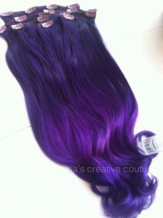 82 best hair extensions images on pinterest colors make up and sew ombre ombrehair ombrehairextensions ombre hair extensions festival hair purple by ninascreativecouture 22500 pmusecretfo Images