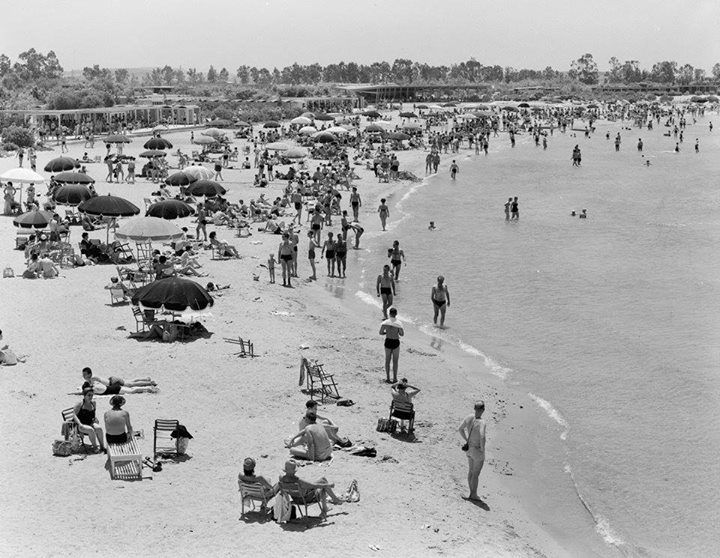 1959 ~ Asteria beach, Glyfada
