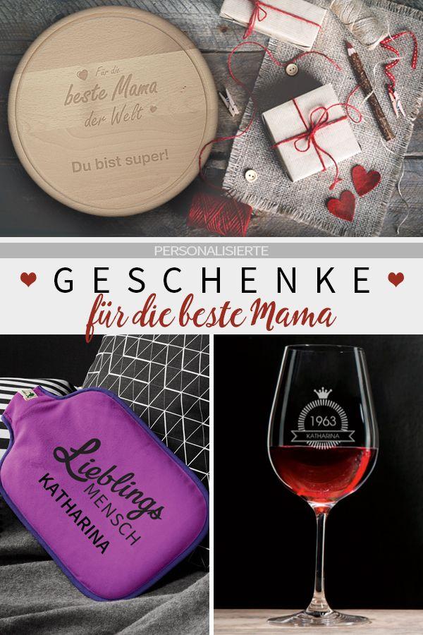 ♥ Personalisiertes Geschenk Mama ♥ #ewinmüller #manutextur ...