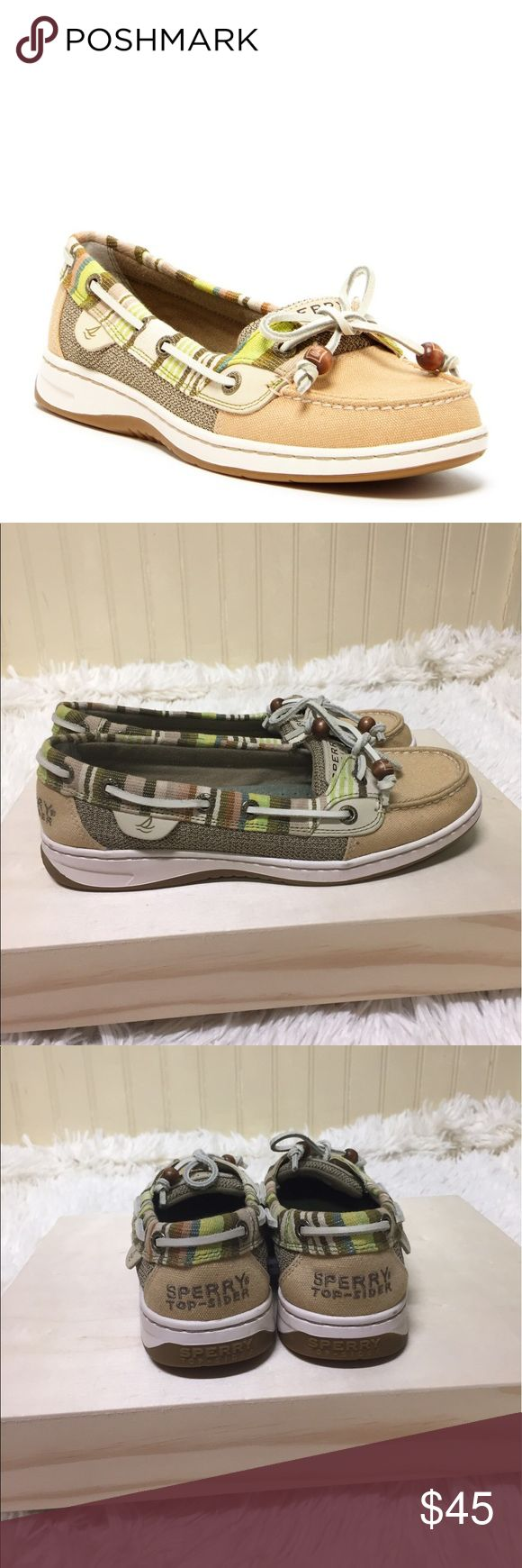 Sperry Top Sider Angelfish Sand Serape Size 6.5 Sperry Top Sider Angelfish Sand Serape Size 6.5 excellent condition Sperry Top-Sider Shoes