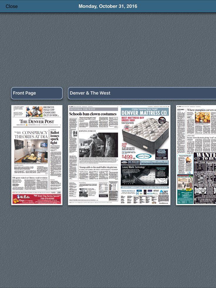 Denver Post Digital Replica Edition EntertainmentNews